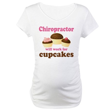 Funny Chiropractor Maternity T-Shirt