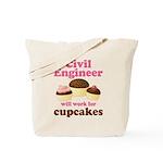 Funny Civil Engineer Tote Bag