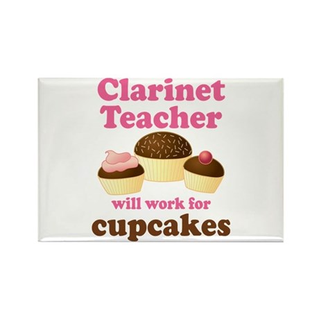 Funny Clarinet Teacher Rectangle Magnet
