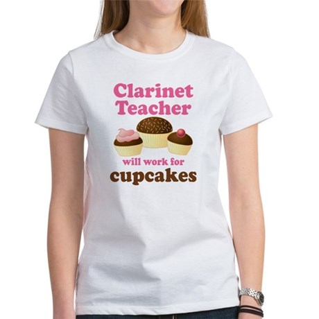 Funny Clarinet Teacher Women's T-Shirt
