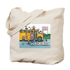 Female Bus Driver Tote Bag