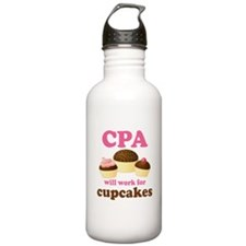 Funny CPA Water Bottle