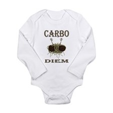 Carbo Diem Long Sleeve Infant Bodysuit