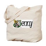 Kenny Celtic Dragon Tote Bag