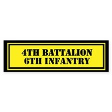 4th Battalion 6th Infantry Stickers