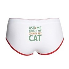 Cornish Rex Cat Women's Boy Brief