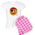 Pirate Smiley Face Women's Light Pajamas