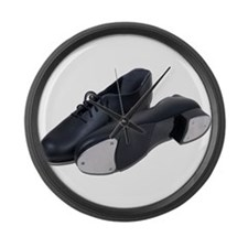 Tap Shoes Large Wall Clock