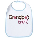 Grandpa's Girl Bib