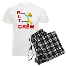 Pit Crew Band Parent Pajamas