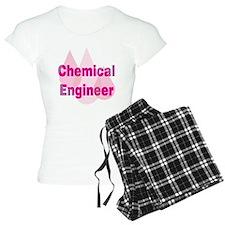 Pink Chemical Engineer Pajamas
