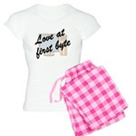Love At First Byte Women's Light Pajamas