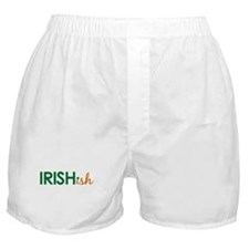Irish-ish (St. Patty's Day) Boxer Shorts