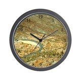 Palomar Mtn Roadway Turn Wall Clock