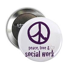"Peace, Love, & SW 2.25"" Button 10 pk"