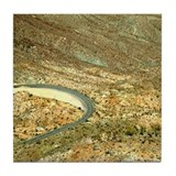 Palomar Mtn Roadway Turn Tile Coaster