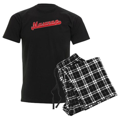 Masarap Men's Dark Pajamas