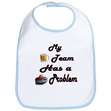 My Drinking Team Has a Curlin Bib