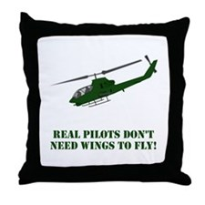 Cool Pilot Throw Pillow