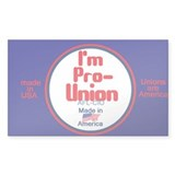 Pro Union Decal