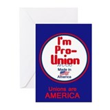 Pro Union Greeting Cards (Pk of 10)