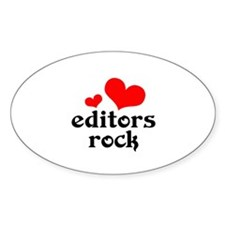 Editors Rock Decal