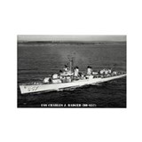 USS CHARLES J. BADGER Rectangle Magnet