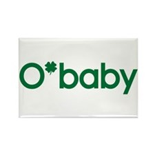 O'Baby Irish Baby Rectangle Magnet (10 pack)