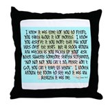 Retired Teacher Story Art Throw Pillow