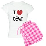 I heart Demi pajamas