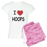 love hoops pajamas