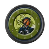 World War 2 Large Wall Clock