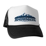 Snowmass Blue Mountain Trucker Hat