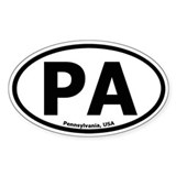 Pennsylvania Oval Decal