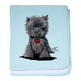 Affenpinscher baby blanket