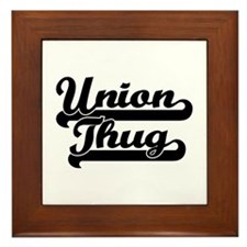 Union Thug Framed Tile