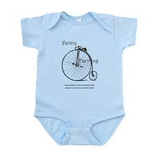 Antique bicycle Infant Bodysuit