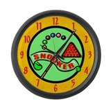Snooker Large Wall Clock