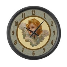 Angel Large Wall Clock