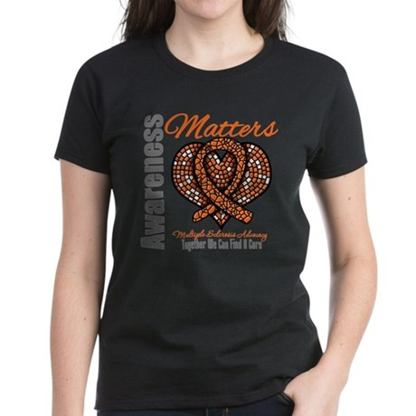 MS Awareness Matters Women's Dark T-Shirt