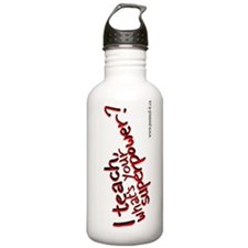 Teach/Superpower Stainless Steel Water Bottle 1L