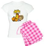 Thanksgiving Harvest Women's Light Pajamas