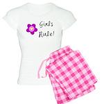 Girls Rule Women's Light Pajamas