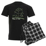 Plant A Tree Men's Dark Pajamas