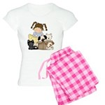 Puppy Dog Friends Women's Light Pajamas