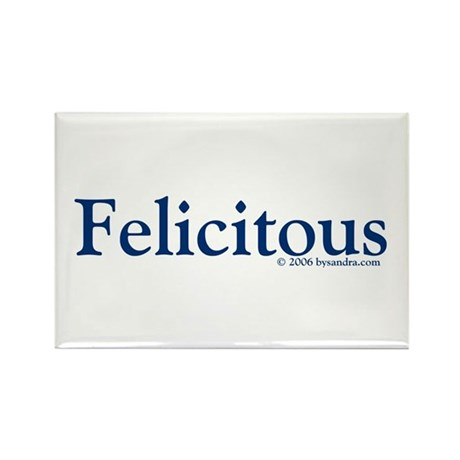 Felicitous Rectangle Magnet
