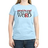 End the Word T-Shirt