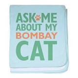 Bombay Cat baby blanket