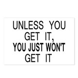 Unless You Get it Postcards (Package of 8)