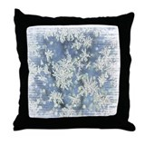 Frost Details Throw Pillow